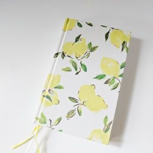 NWT Kate Spade Word to the Wise Lemon Journal